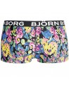 Bjorn Borg Dames Mini Short Flowing Flowers Black