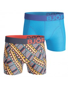 Björn Borg Boxershort 2Pack Maasai Peacoat