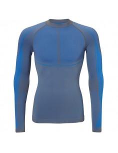 Ten Cate Heren Thermo Hightech Shirt Longsleeve Blauw