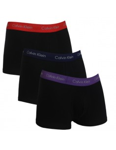 Calvin Klein Ondergoed Low Rise Trunk black purple red Mix 3Pack