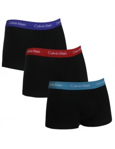Calvin Klein Ondergoed Low Rise Trunk Blue purple grey Mix 3Pack