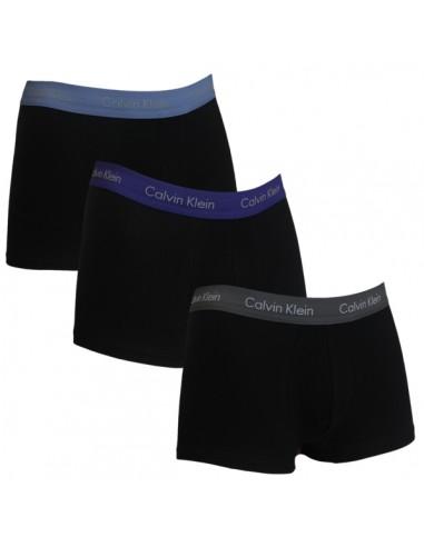 Calvin Klein Ondergoed Low Rise Trunk Blue purple grey Mix 3Pack