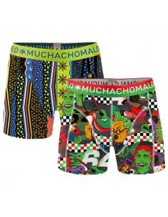 MuchachoMalo Motor Print 2Pack Kinder Ondergoed