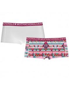 MuchachoMalo Music Short 2Pack Dames Ondergoed