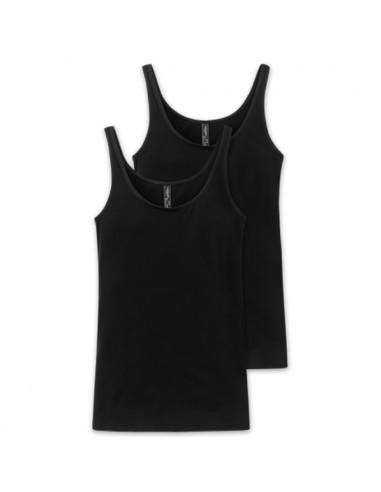 Schiesser Dames Hemd 2Pack Zwar