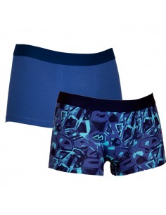 Uncover Trunk Short 2Pack Blue Aqua