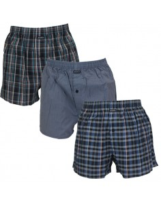 Jockey Boxershort Klassiek Black 3Pack
