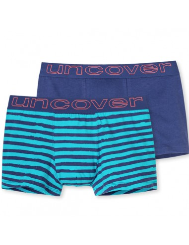 Uncover Trunk Short 2Pack mixed Schiesser