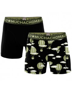 MuchachoMalo Cotton Modal Airbal 2Pack Heren Boxershorts