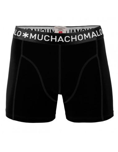MuchachoMalo Jongens Zwembroek Strak Zwart