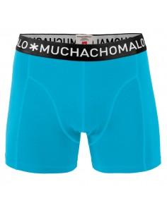 MuchachoMalo Jongens Zwembroek Strak Blauw