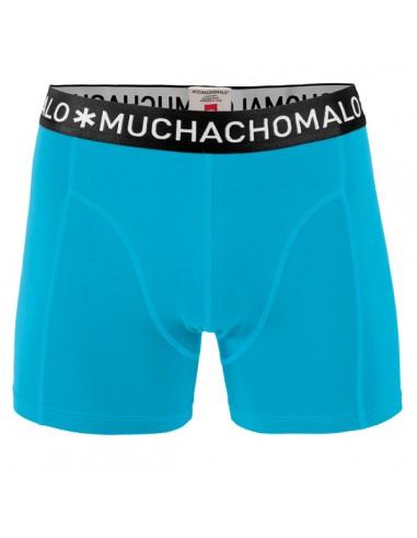 MuchachoMalo Heren Zwembroek Strak Blauw