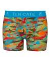 Ten Cate Jongens Boxershort Sealife Army