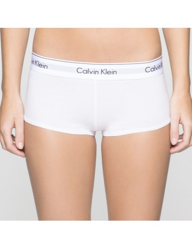 Calvin Klein Modern Cotton Boyshort Wit