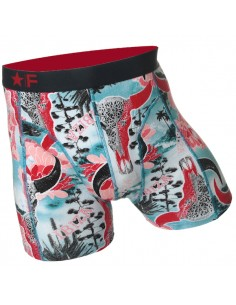 Funderwear Bullskull Red