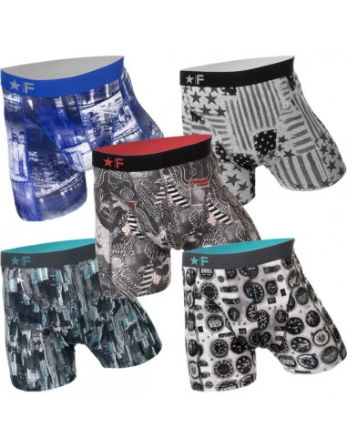 Funderwear Mixed Colour States 4+1 Gratis 5Pack