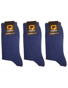 Suaque Heren sokken 3Pack 43-46 Denim Cotton Comfort