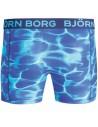 Björn Borg Boxershort Polyamide Splash Monaco Blue
