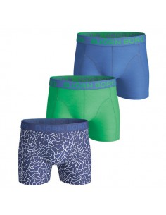 Björn Borg Boxershorts BB Surface 3Pack Monaco Blue