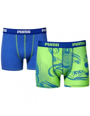 Puma Boxershort Sneaker Jelly Bean Blue 2Pack