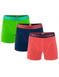 MuchachoMalo Solid 152 3Pack Jongens Boxershorts