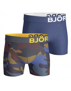 Björn Borg Short 2Pack BB Contrast Camo Total Eclipse