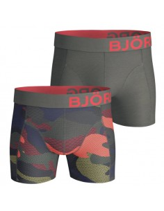 Björn Borg Short 2Pack BB Contrast Camo Forest Night