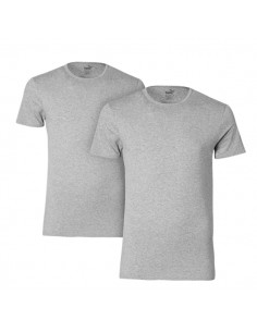 Puma T-Shirt Crew Grijs 2Pack