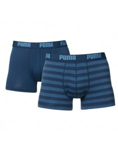 Puma Boxershorts Stripe 1515 Blue Heaven 2Pack