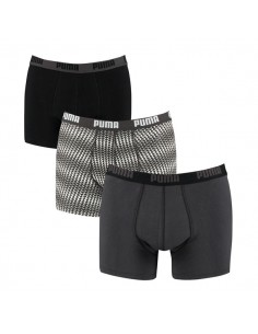Puma Boxershorts Triangles Black 3Pack