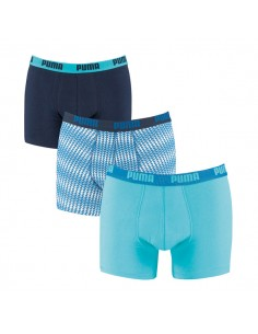 Puma Boxershorts Triangles Scuba Blue 3Pack