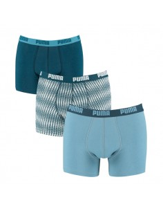 Puma Boxershorts Triangles Blue Heaven 3Pack