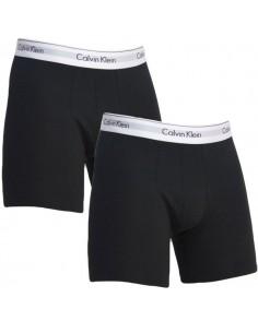 Calvin Klein Ondergoed Modern Cotton Strech Boxer Black 2Pack