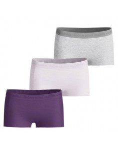 Bjorn Borg Dames Mini Short 3Pack Basic Nightshade