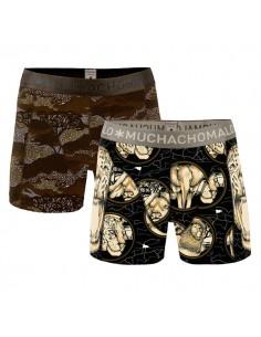 MuchachoMalo Wildlife 2Pack Heren Boxershorts