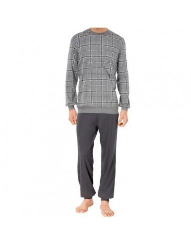 Schiesser Pyjama Set Grijze Ruit