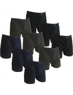 Gino Santi (Suaque) Klassieke boxer 9 pak Navy, zwart, blauw