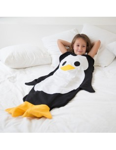 Fun2wear Snuggle bag 3 tot 6 jaar pinguin 92 -128