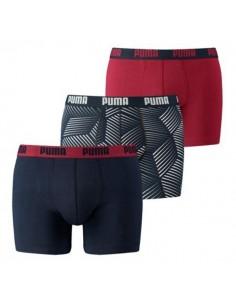 Puma Boxershorts Thooth boxer Bordeaux 3Pack