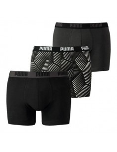Puma Boxershorts Thooth boxer Black 3Pack
