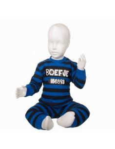 Fun2wear Pyjama Boefje Blauw glow in the dark