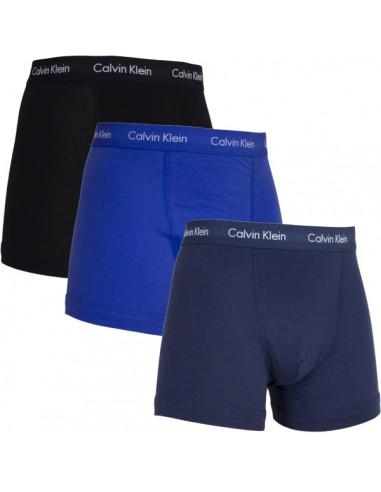 Calvin Klein Ondergoed color mix  3 pack blue black navy long trunk