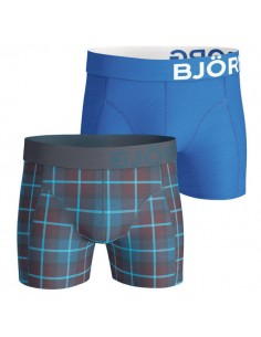 Björn Borg Short 2Pack BB Check Total Eclipse