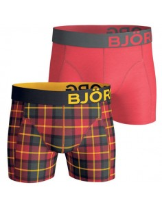 Björn Borg Short 2Pack BB Check Jester Red