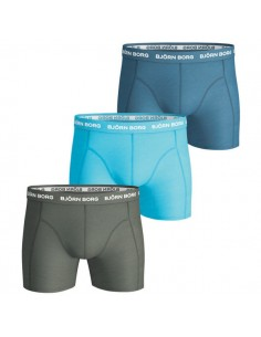 Björn Borg Boxershorts 3Pack Seasonal Solids Kombu Green
