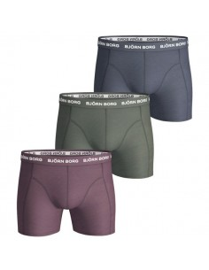 Björn Borg Boxershorts 3Pack Seasonal Solids Winetasting