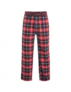 Björn Borg Pyjama Pants BB Check XMAS Box Black