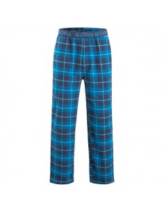 Björn Borg Pyjama Pants BB Check XMAS Box Total Eclipse