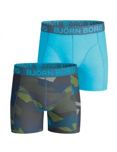 Bjorn Borg 2Pack BB Contrast Camo Skydiver Boxershorts Jongens Ondergoed