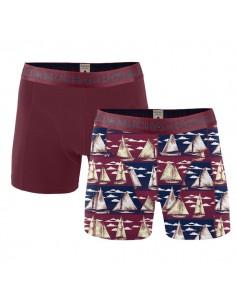 MuchachoMalo Cotton Modal Sail 2Pack Heren Boxershorts